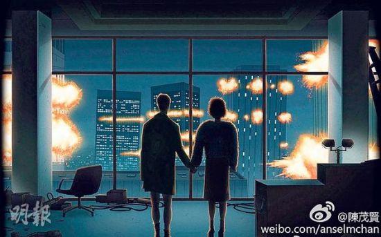 吴千语隔空传情示爱林峰 不怕枪林弹雨