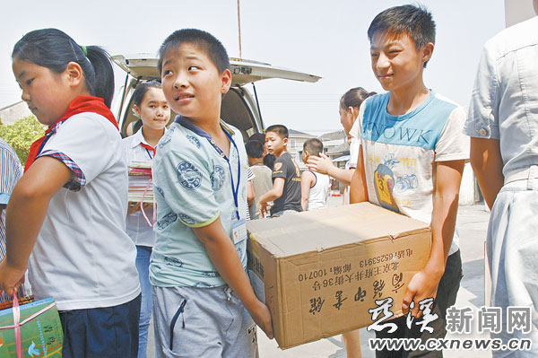 天一小学礼物收开学小学--慈溪新闻网篮球社团学生照片图片