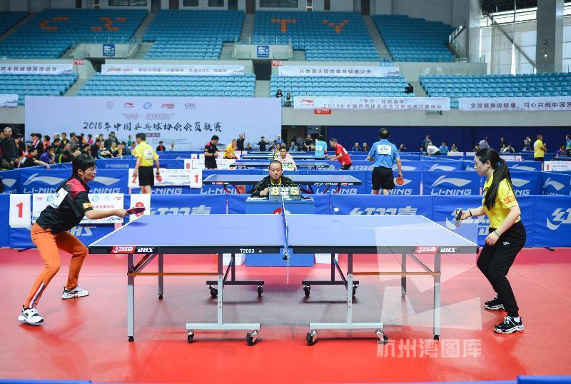 中国乒协会员联赛慈溪站开战