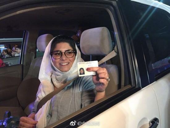 历史性的一天!沙特开放女性驾车