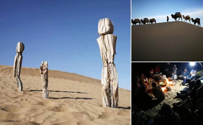 徒步200多公里 宁波教师大漠考古 有重要发现