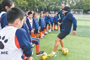 阿根廷足球教练送课上门