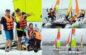 全球首创!中国家庭帆船赛宁波站在梅山启航