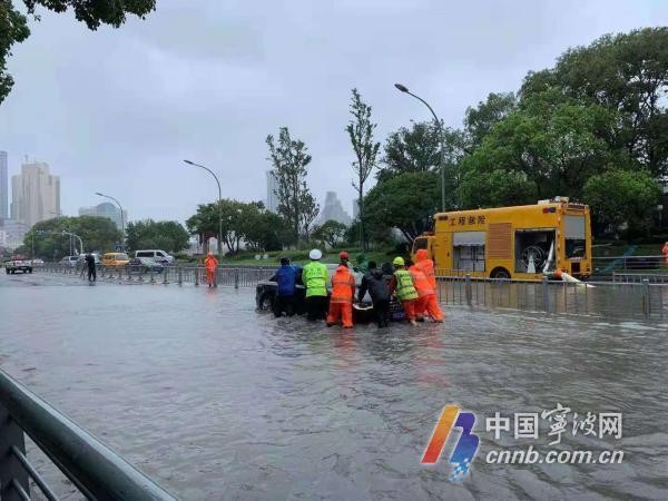 宁波继续发布三江干流洪水风险红色预警 可能发生超历史特大洪水